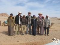 3 cowboys among Bedu