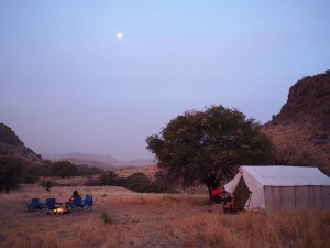 Tents or under the stars, it's your choice.